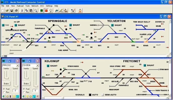 Cti Model Railroad Computer Control